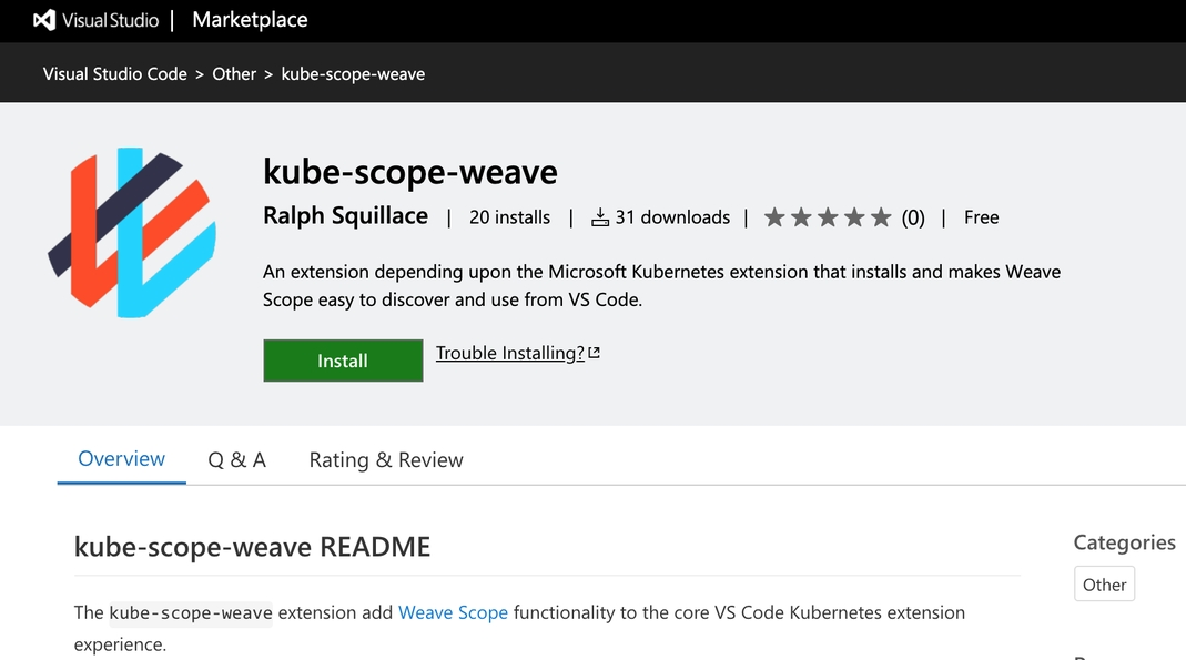 Troubleshoot Clusters From Visual Studio Code With Weave Scope
