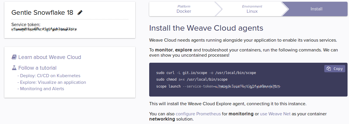 Part 2 Deploy: Continuous Delivery with Weave Cloud